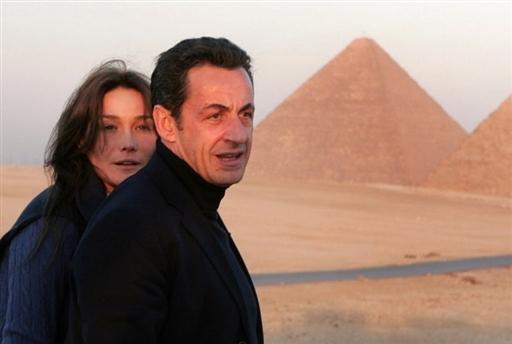 Sarkozy et l'egypte