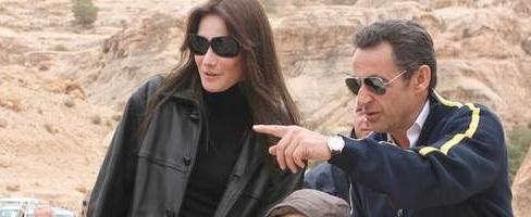 Sarkozy et la Jordanie